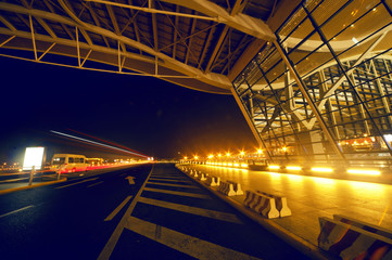 Shanghai Airport Night