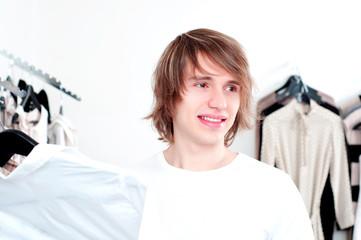 Man's shopping