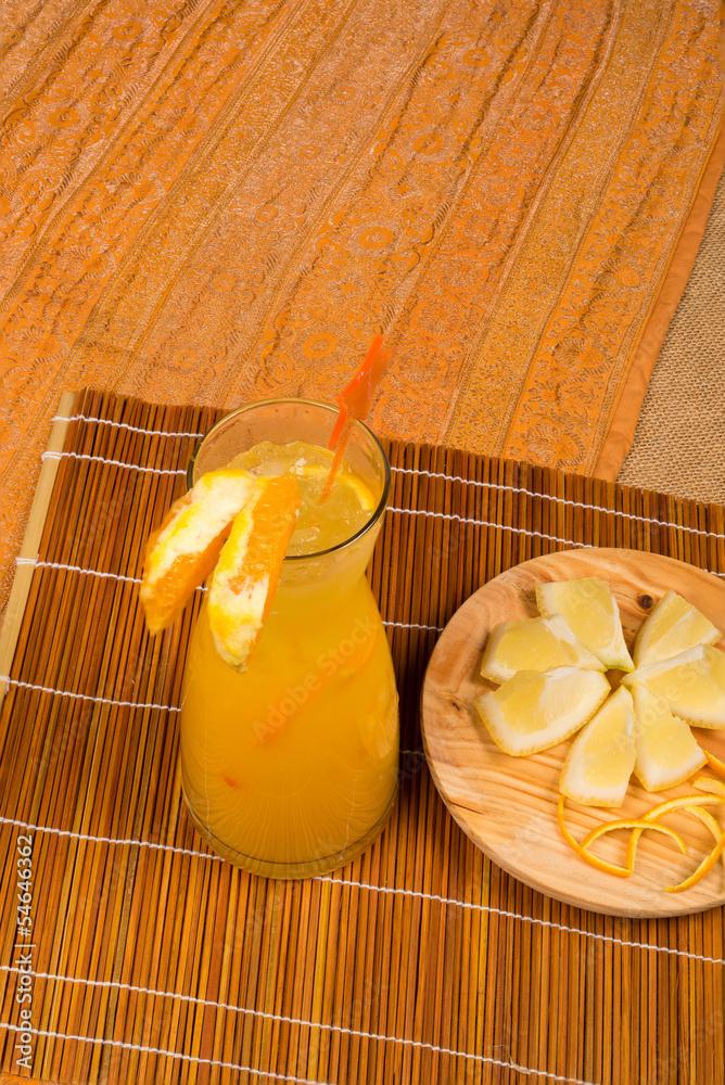 cytryny sok napój - powiększenie