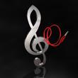 Klinkenkabel Violinschlüssel