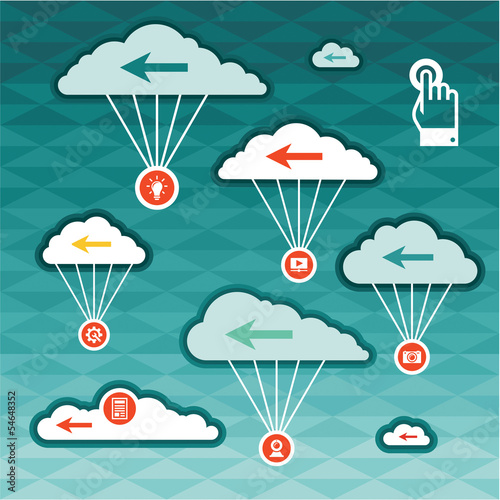 Vector Clouds - Sky Concept