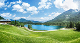 The idyllic Hintersee at Berchtesgaden/Ramsau, Bavaria