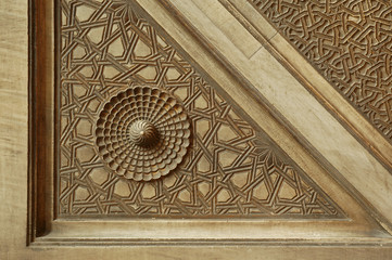 Marble wall details in Hagia Sophia-Hand made Istanbul-Turkey