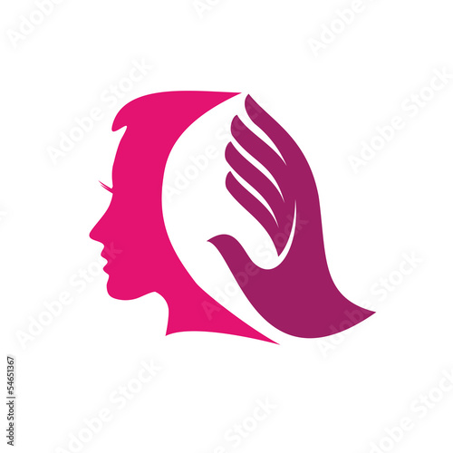 Vector Logo beauty hair