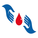 Vector Logo Blood Donation