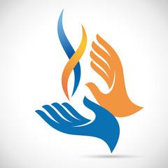 Vector Logo service natural gas