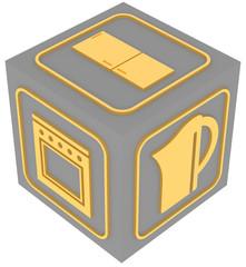 Бытовая техника. Куб