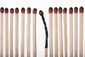Fósforos de madera