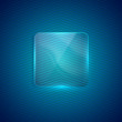 abstract background with transparent glass banner