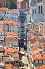 Elevador de Santa Justa. Lisboa. Portugal