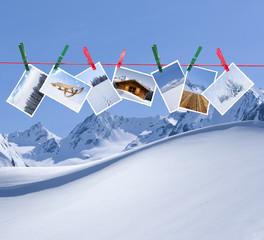 Winterurlaubsfotos
