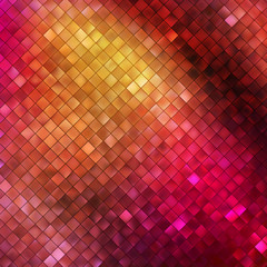 Pink glitters on a soft blurred background. EPS 10
