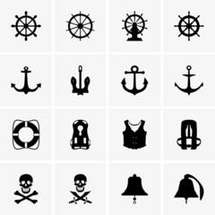 Anchors, wheels and others