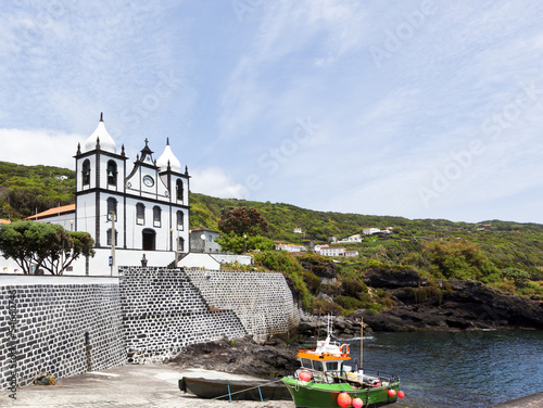 Church at Calheta de Nesquim, Pico, Azores