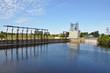 Leinwanddruck Bild - Water treatment plant