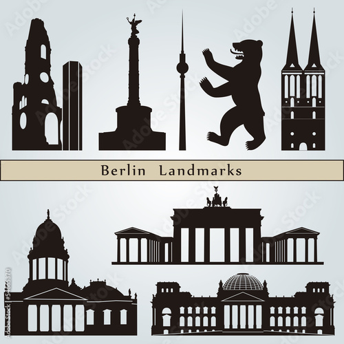 Berlin landmarks and monuments
