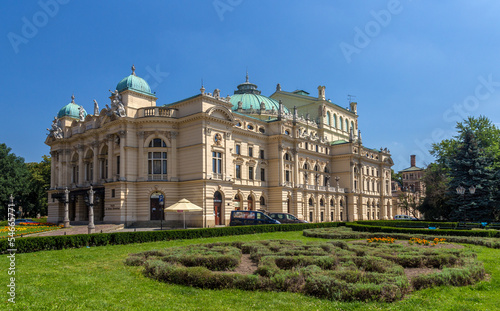 Juliusz Slowacki Theatre in Krakow - Poland