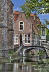 Little Delft House in Holland