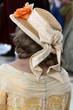 Leinwandbild Motiv Damenhut