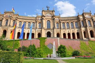 Maximilianeum in München - Bayerischer Landtag