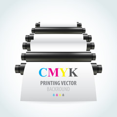 Printing machine backgrond