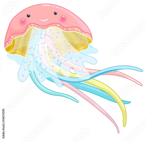 jellyfish cartoon character