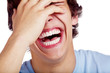 Laughing guy closeup - 54675108