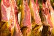 Ham at meat market