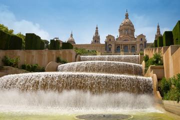 Catalonian national museum MNAC