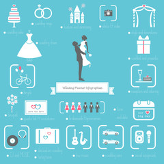 Wedding Planner Infographics