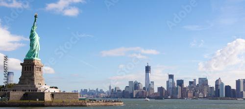 Foto op Canvas New York City Panorama on Manhattan, New York City