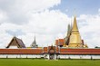 Wat Phra Kaeo at grand palace, thailand.