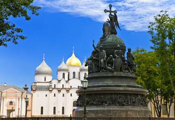 Great Novgorod.Monument Millennium of Russia