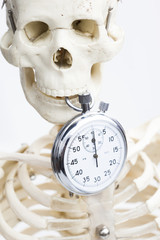 Death and time concept