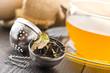 foglie di tea essicate