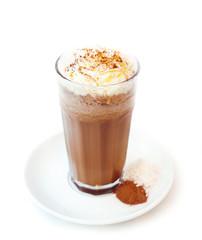 kawa kakaowa deser bita śmietana