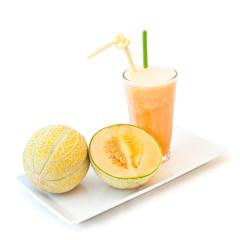 smoothie melon zielony