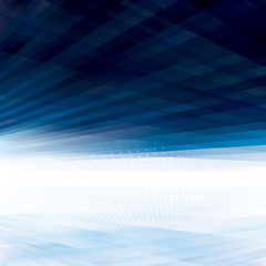 Abstract virtual space perspective background.