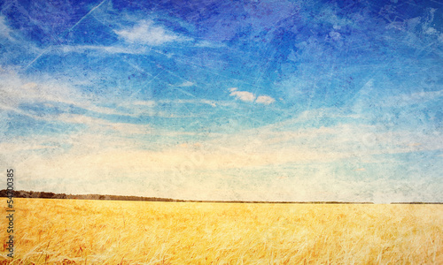 Countryside landscape