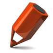 Orange pencil icon