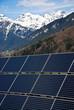Sonnenkollektor Winder in Berglandschaft Tirol