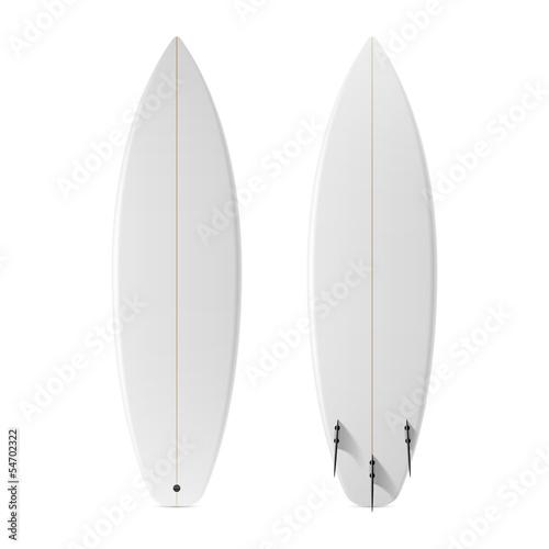 Zdjęcia na płótnie, fototapety, obrazy : Blank surfboard