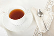 tazza di the all'inglese elegante