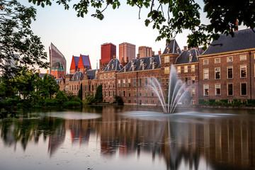 Den Haag Binnenhof met hofvijver