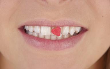 Lachen / Zähne / Herz