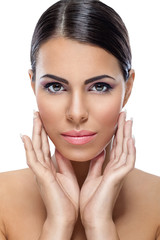 Beauty woman with healthy skin