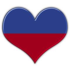Heart with flag of Liechtenstein