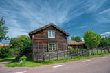 Traditional house in the Swedish folklore district Dalecarlia