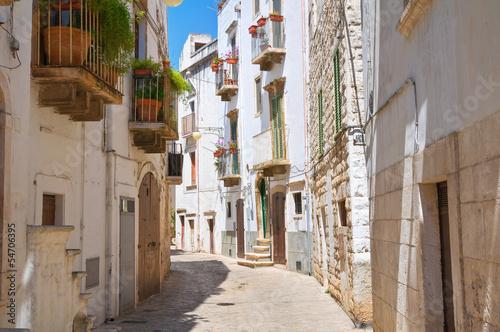 Alleyway. Putignano. Puglia. Italy. - 54706395