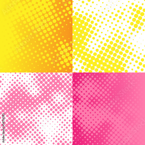 Vector bitmap raster background set